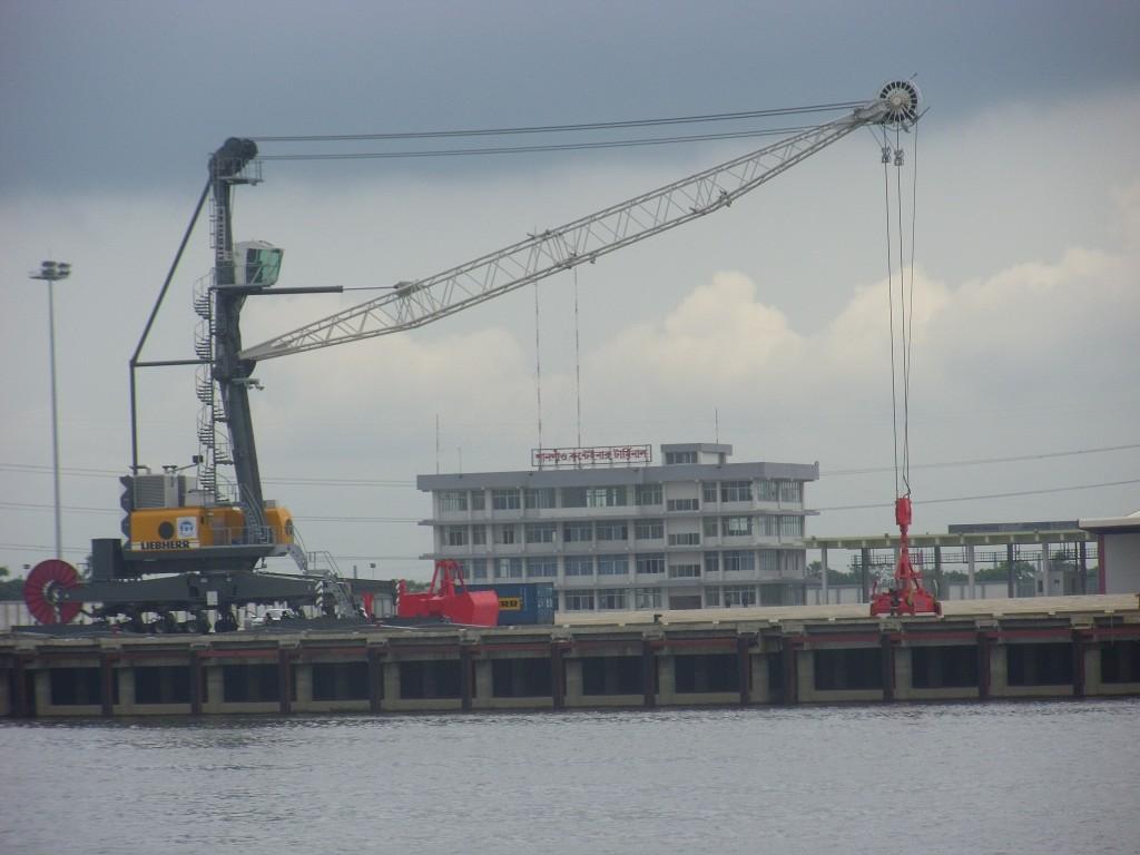 Mobile Harbour Crane-1